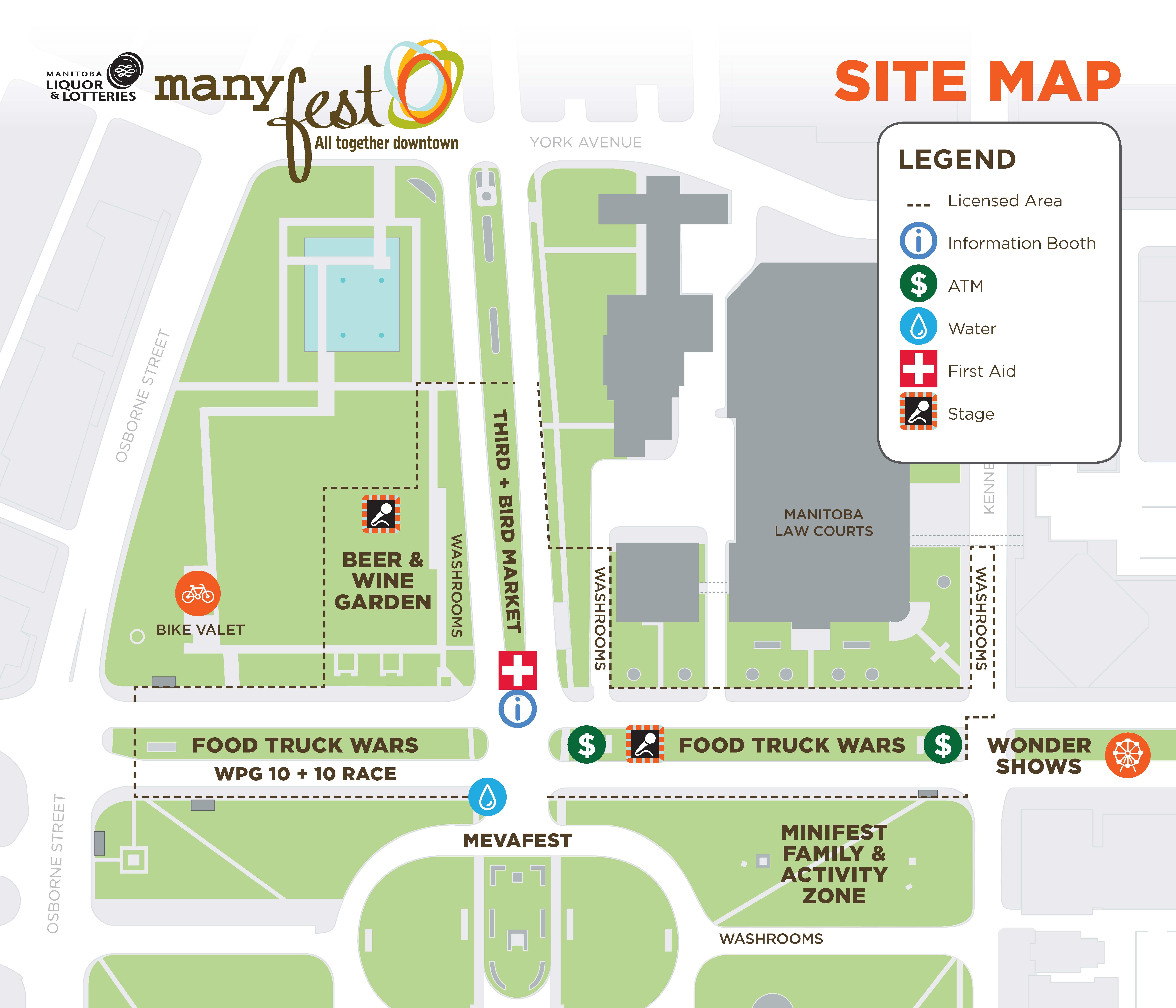 Manyfest Map